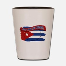 Cool Cubano Shot Glass