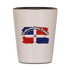 REP. DOMINICANA Shot Glass
