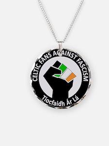Celtic Fans Against Fascism Necklace
