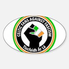 Celtic Fans Against Fascism Decal