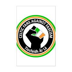 Celtic Fans Against Fascism Posters