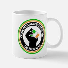 Celtic Fans Against Fascism Mug