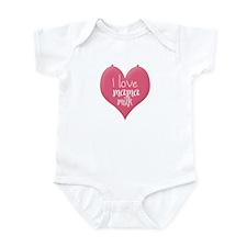 Cute Mamas milk Infant Bodysuit