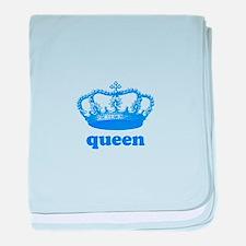 queen (royal blue) baby blanket