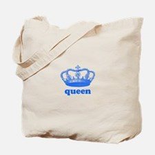 queen (royal blue) Tote Bag