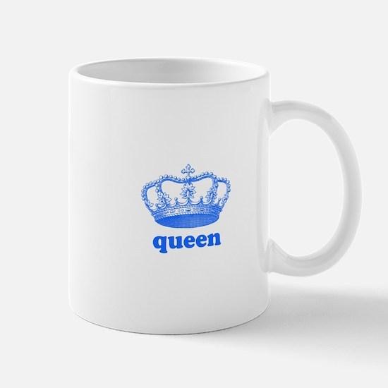 queen (royal blue) Mug