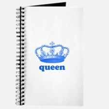queen (royal blue) Journal