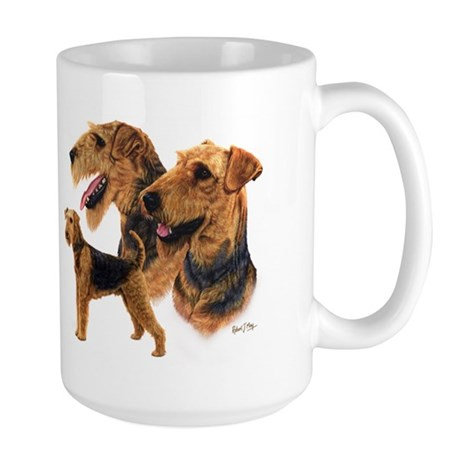 Airedale Terrier Large Mug