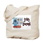 Sexy Docent Museum Worker Tote Bag