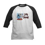 Sexy Docent Museum Worker Kids Baseball Jersey