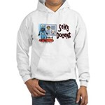 Sexy Docent Museum Worker Hooded Sweatshirt