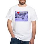 I Love Shuffleboard White T-Shirt
