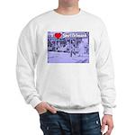 I Love Shuffleboard Sweatshirt