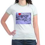 I Love Shuffleboard Jr. Ringer T-Shirt