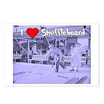 I Love Shuffleboard Postcards (Package of 8)