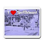 I Love Shuffleboard Mousepad