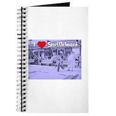I Love Shuffleboard Journal