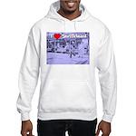 I Love Shuffleboard Hooded Sweatshirt
