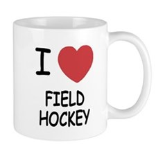I heart field hockey Mug