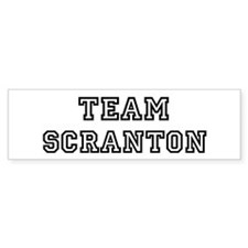 Team Scranton Bumper Bumper Sticker