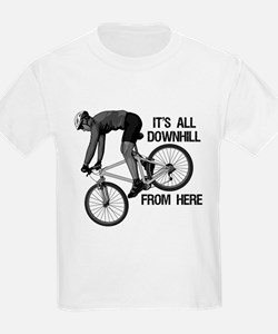 Downhill Mountain Biker T-Shirt