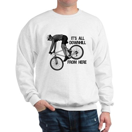 Downhill Mountain Biker Sweatshirt