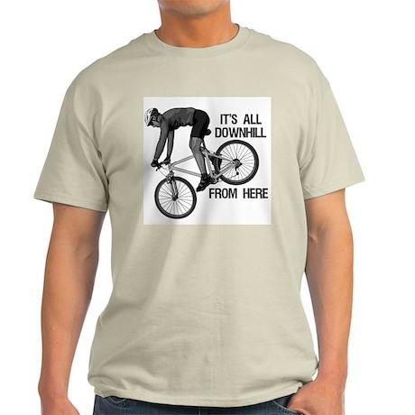 Downhill Mountain Biker Light T-Shirt