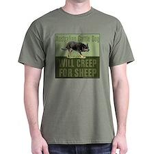 Australian Cattle Dog Creep for Sheep T-Shirt
