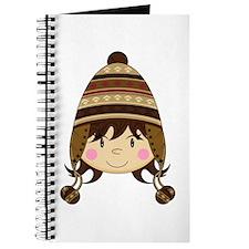 Cute Kid in Wooly Hat Journal