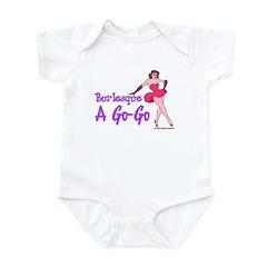 Burlesque A Go Go Infant Creeper
