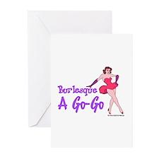 Burlesque A Go Go Greeting Cards (Pk of 10)
