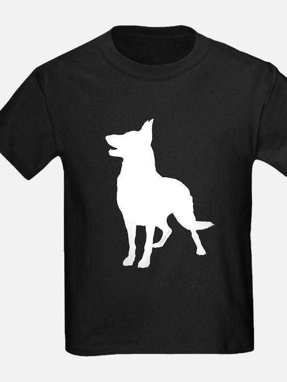 German Shepherd Silhouette T