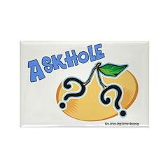 Askhole Rectangle Magnet