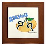 Askhole Framed Tile