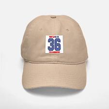 Wu Baseball Baseball Cap