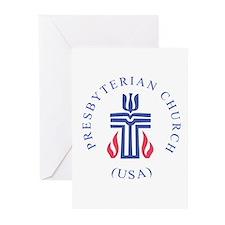 Springfield Presbyterian Chur Greeting Cards (Pack