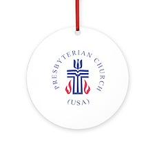 Springfield Presbyterian Chur Ornament (Round)
