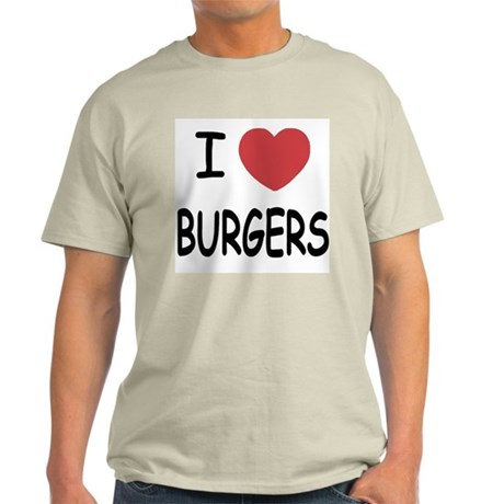 I heart burgers Light T-Shirt
