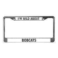 Bobcat License Plate Frame