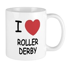 I heart roller derby Mug