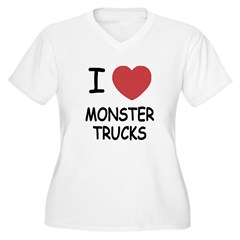 I heart monster trucks T-Shirt