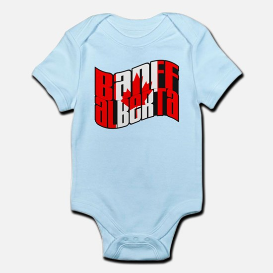 Banff Canadian Flag Infant Bodysuit