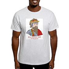 King Edward III of England Ash Grey T-Shirt