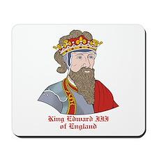 King Edward III of England Mousepad