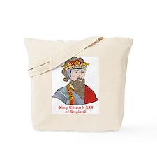 King Edward III of England Tote Bag