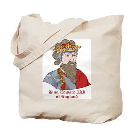 King Edward III of England Tote Bag