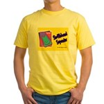 Shuffleboard Superstar Yellow T-Shirt