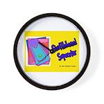 Shuffleboard Superstar Wall Clock