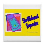 Shuffleboard Superstar Tile Coaster