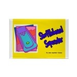 Shuffleboard Superstar Rectangle Magnet (10 pack)